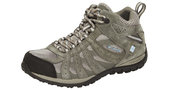 Columbia Redmond Shoes Women Mid WP light grey / sky blue